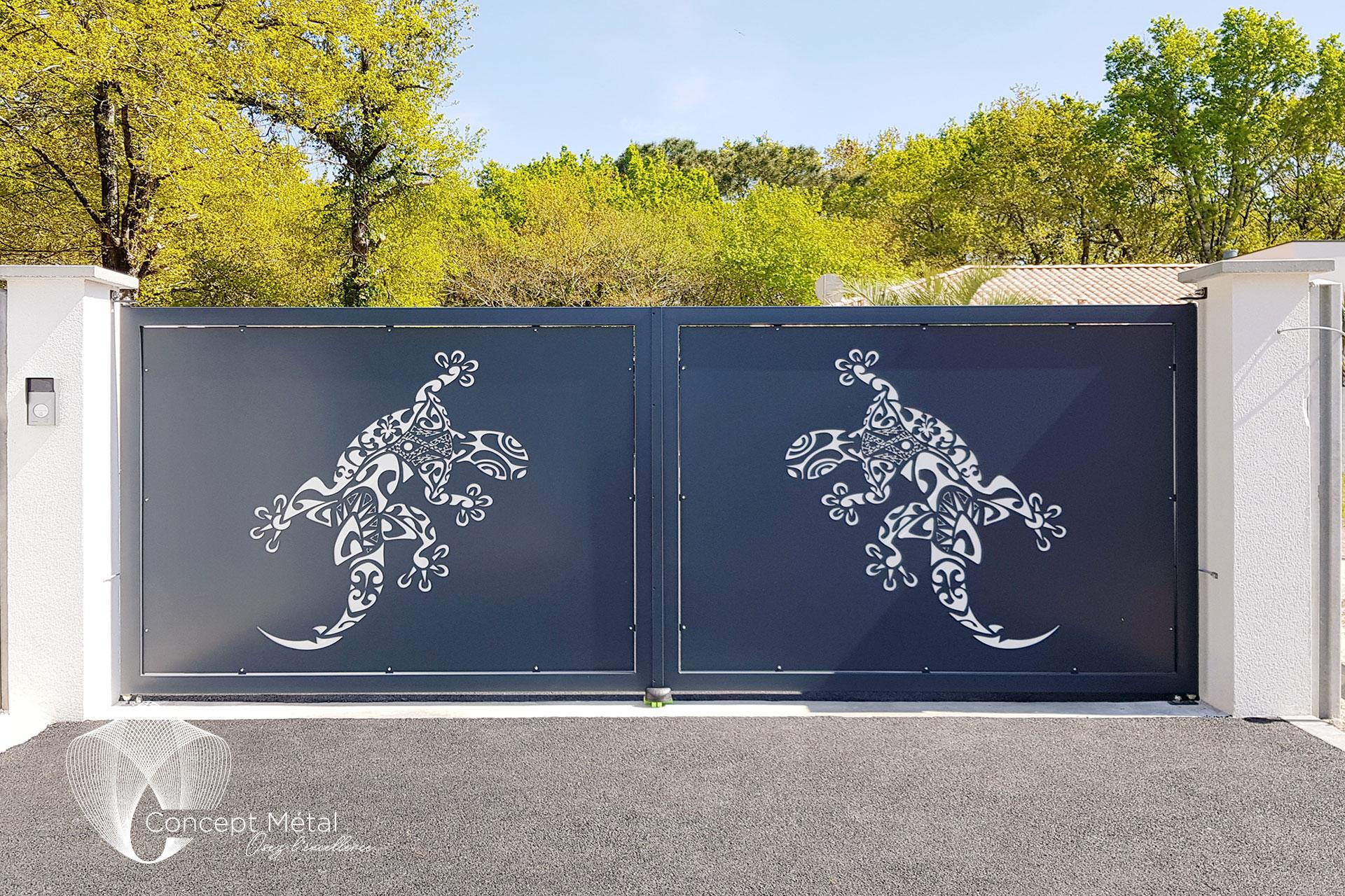 portail métal - Concept Métal - Bordeaux - Bassin d'Arcachon