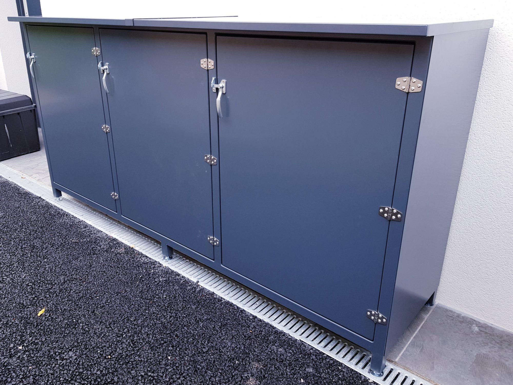 casier metal exterieur rangement metal bassin d'arcachon