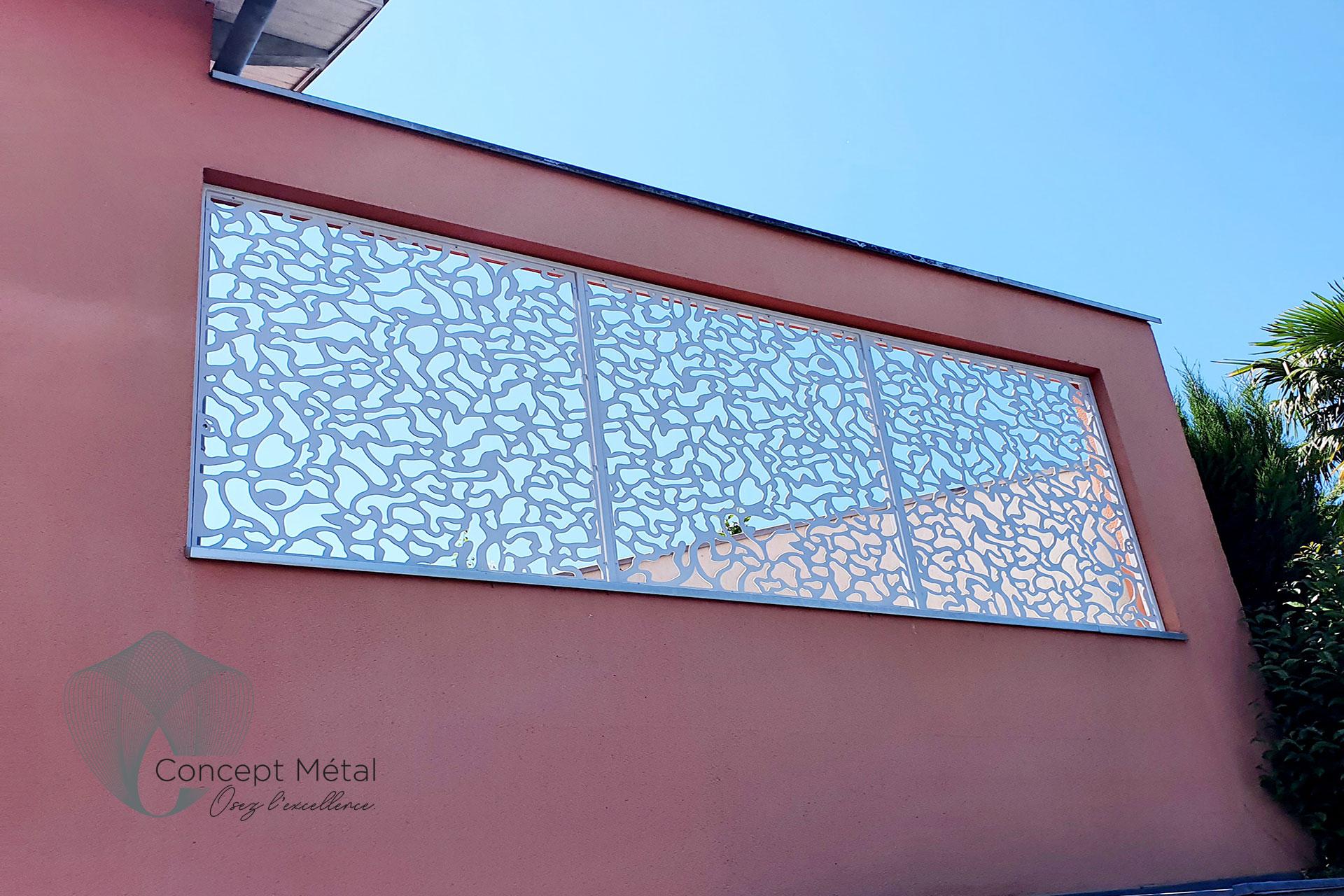 Structures extérieures métal - Concept Métal - Bordeaux - Bassin d'Arcachon